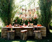 Kids Outdoor Halloween Party And