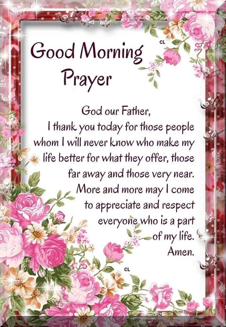 And Prayers Blessings Sunday Morning Good