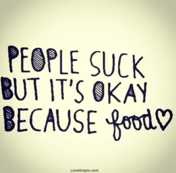 People Suck But Its Ok