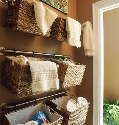 Hang Baskets On Curtain Rods Pictures Photos and Images