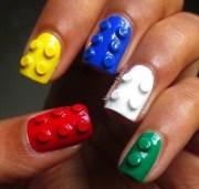 lego nail design