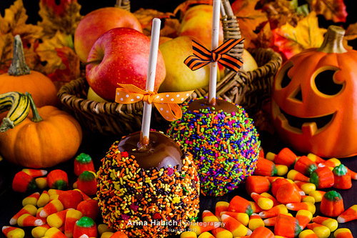 Fall Pumpkin Computer Wallpaper Halloween Candy Apples Pictures Photos And Images For