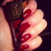 ysl red nail polish