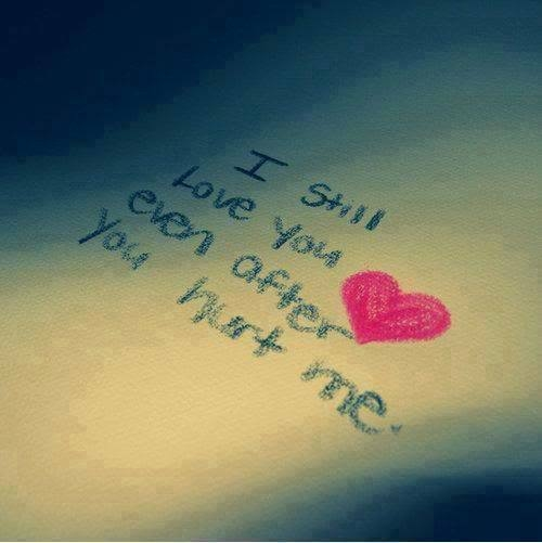 You Love Hurt You Still Me I After