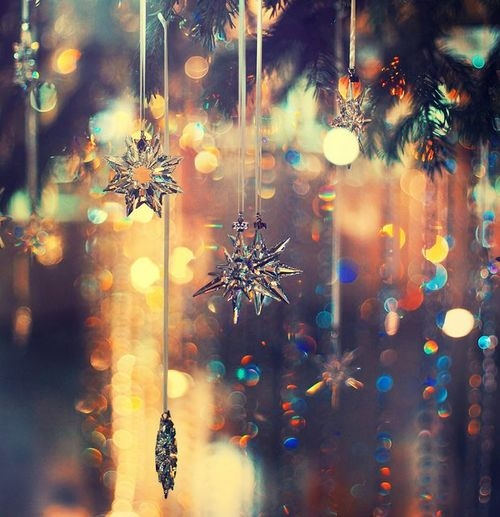 Dangling Snowflake Ornaments Pictures Photos And Images