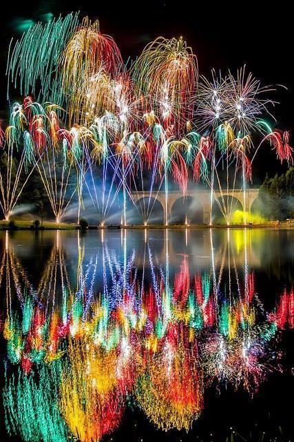 Good Morning Wallpapers With Beautiful Quotes Rainbow Fireworks Pictures Photos And Images For