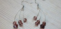 Fashion Earrings With Memory Wire And Beads Pictures ...