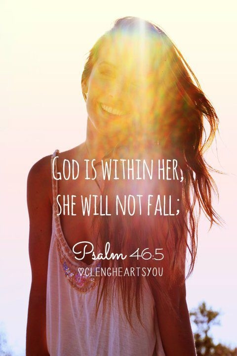 God Is Within Her She Will Not Fall Wallpaper Quotes About God Within Quotesgram
