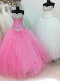 Pink & White Prom Dresses Pictures, Photos, and Images for ...