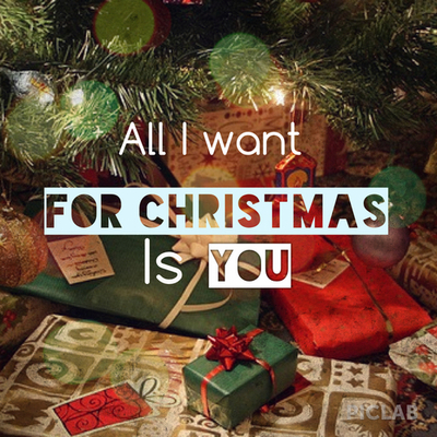 For Christmas Is All I Want You Quotes QuotesGram
