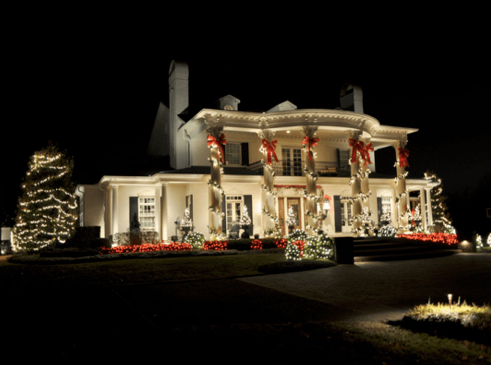 Wonderful Christmas House Lights Pictures Photos And
