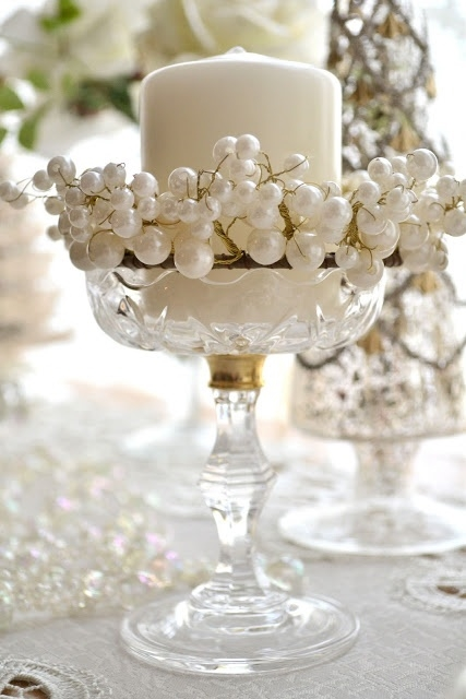 Pearl Candle Holder Pictures Photos and Images for