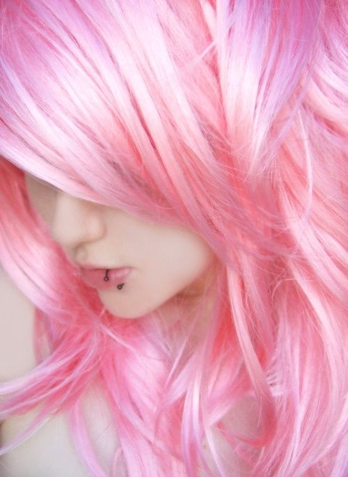 pretty pink hair pictures
