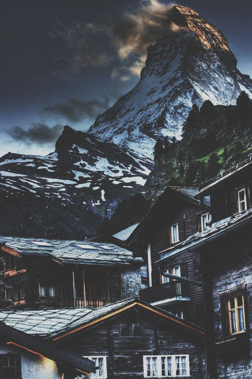 Cute Good Morning Wallpaper With Quotes Zermatt Switzerland Pictures Photos And Images For