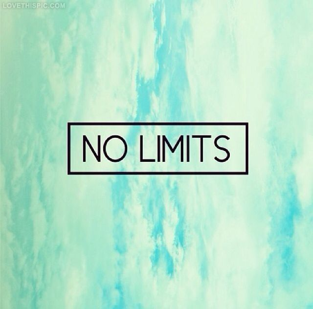 Image result for no limits