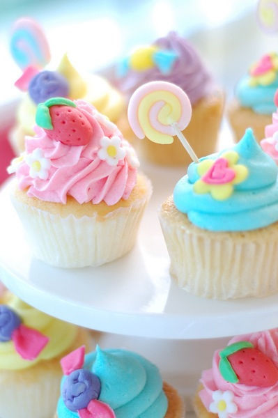 Pastel Sweet Cupcakes Pictures Photos and Images for