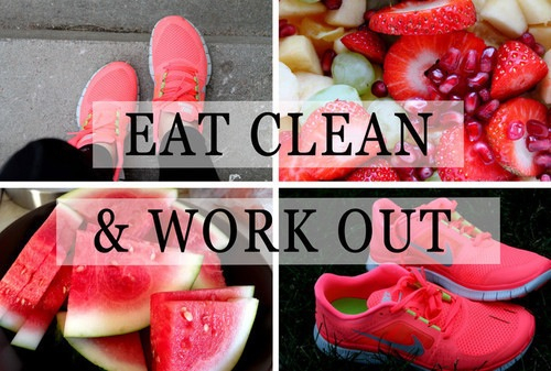 Eat Clean And Work Out Pictures Photos and Images for