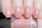 light pink chanel nail polish
