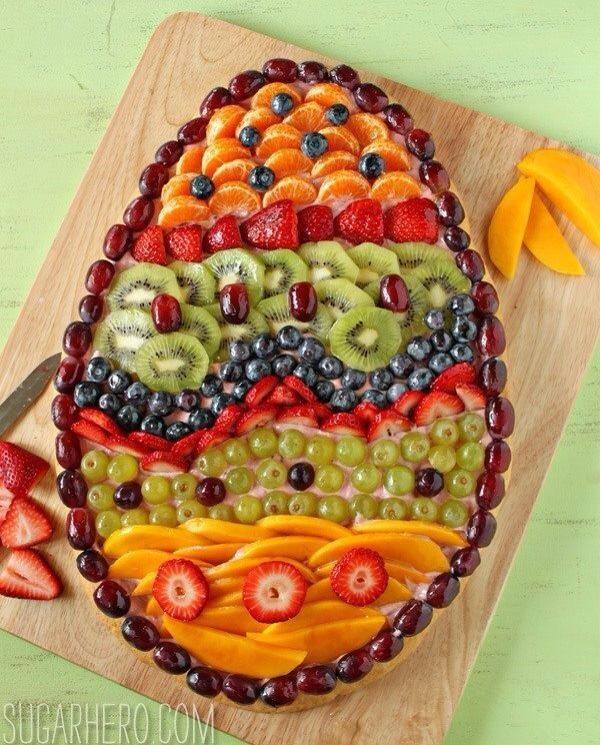 Easter Egg Fruit Appetizer Pictures Photos and Images