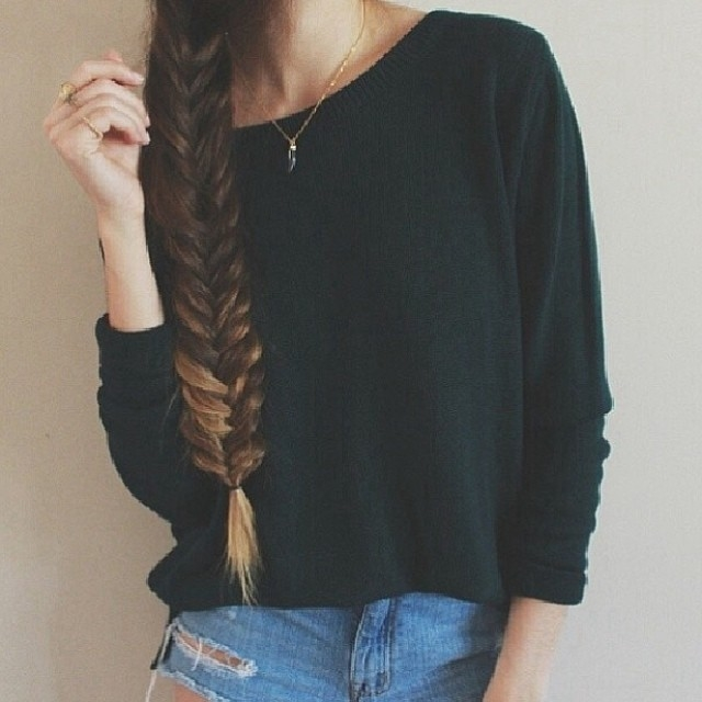 Honey Blonde Fishtail Braid Pictures Photos And Images
