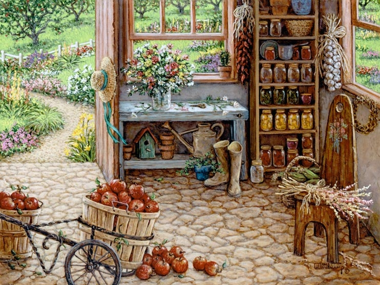 Cute Bakery Wallpaper Gardening Room By Janet Kruskamp Pictures Photos And