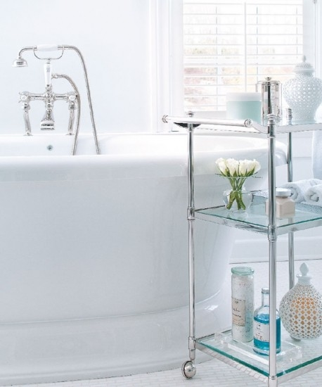 Cart With Wheels For Bathroom Storage Pictures Photos