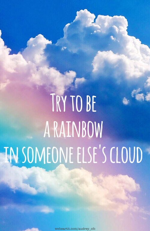 Cute Alien Wallpaper Christmas Try To Be A Rainbow In Someone Elses Cloud Pictures