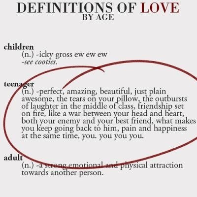 definitions of love by