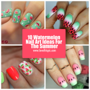 watermelon nail art ideas