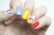 summer themed nail art ideas