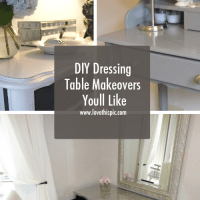 DIY Dressing Table Makeovers Youll Like