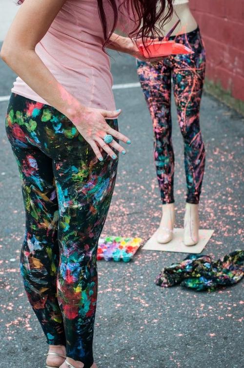 Cute DIY Fashion Leggings