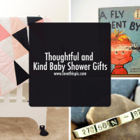 Thoughtful and Kind Baby Shower Gifts