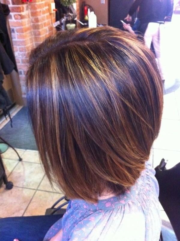 25 Longer Stacked Bob Haircuts Brown Ct Hair Nail Design Ideas