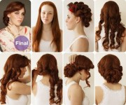 vintage diy hairstyles women