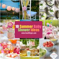 10 Summer Baby Shower Ideas