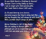 christmas in heaven quotes
