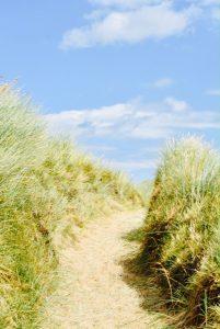 beach walk waxham