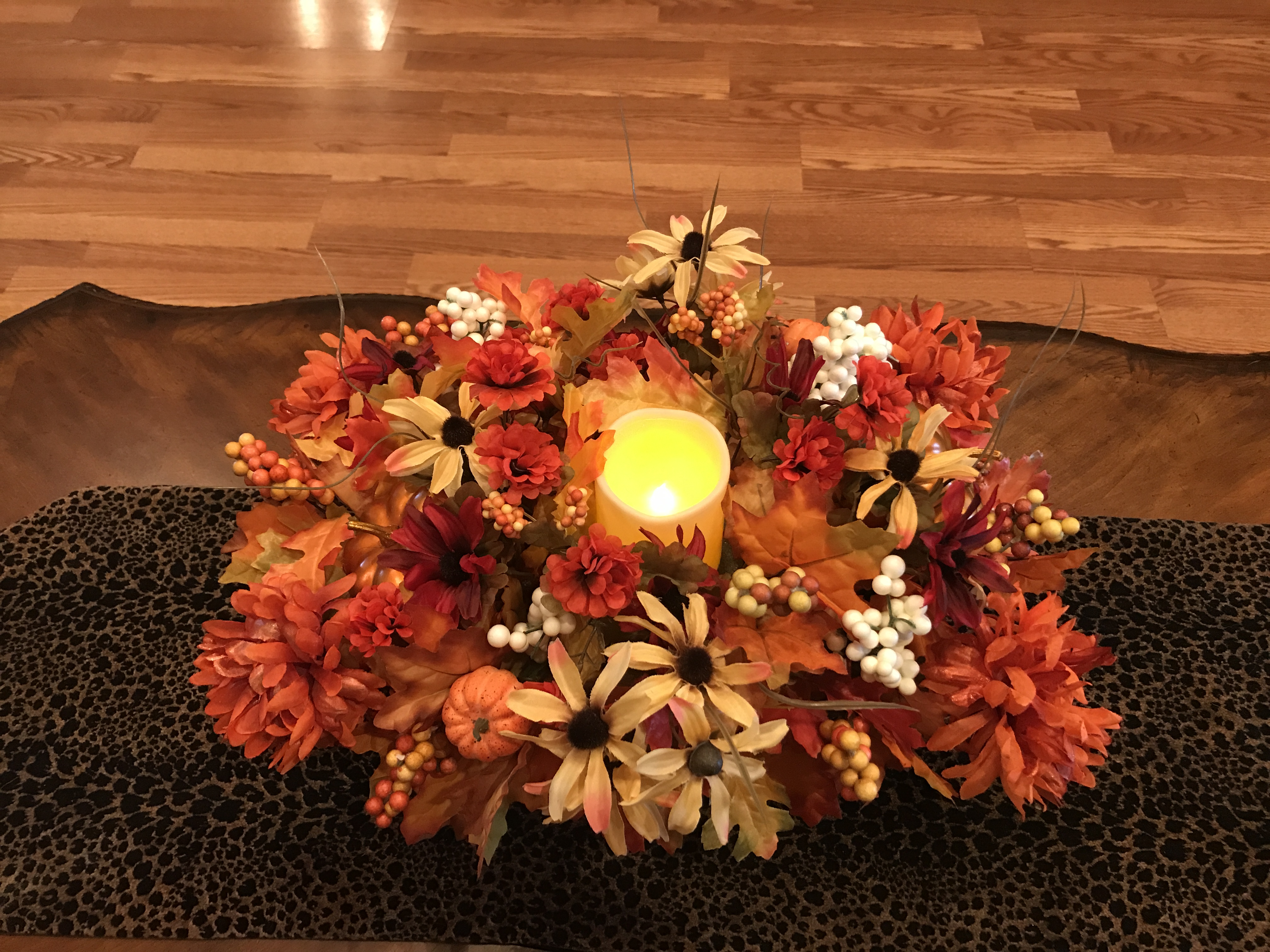 How To Make A DIY Dollar Tree Fall Centerpiece   Love To Frugal