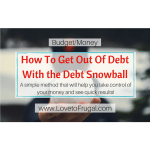 How To Get Out of Debt With the Debt Snowball