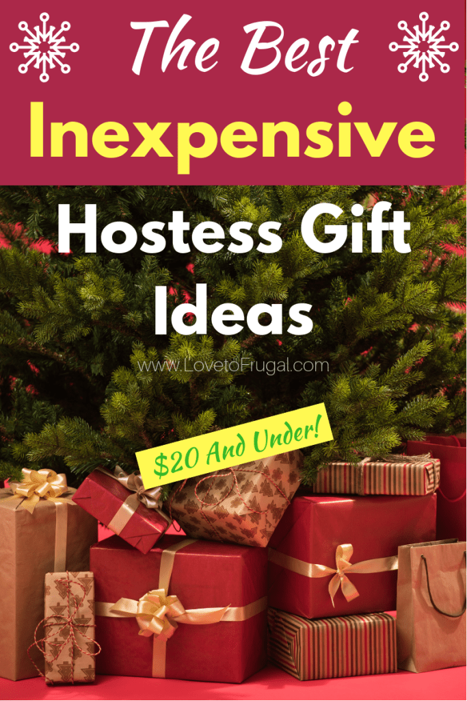 Best Inexpensive Hostess Gift Ideas Love To Frugal