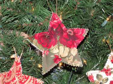 Star Christmas Tree Ornaments