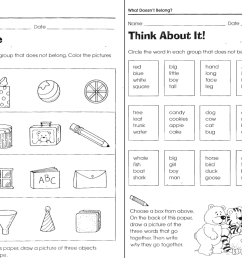 What Doesn't Belong Worksheets   LoveToTeach.org [ 770 x 1145 Pixel ]