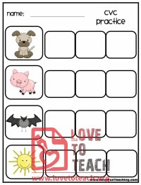 Pin Kindergarten Cvc Words List Image Search Results on ...