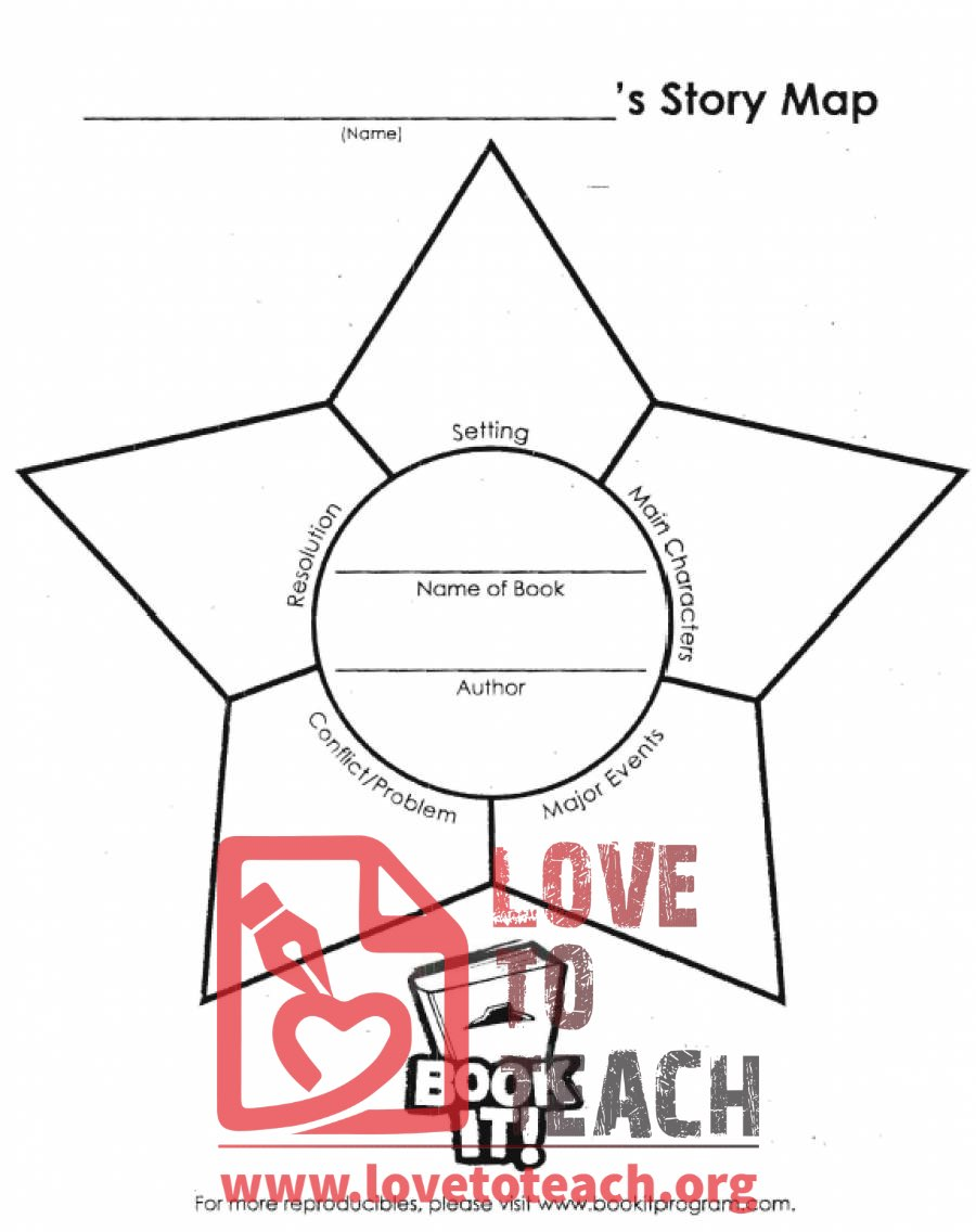 hight resolution of Story Map Worksheets   LoveToTeach.org