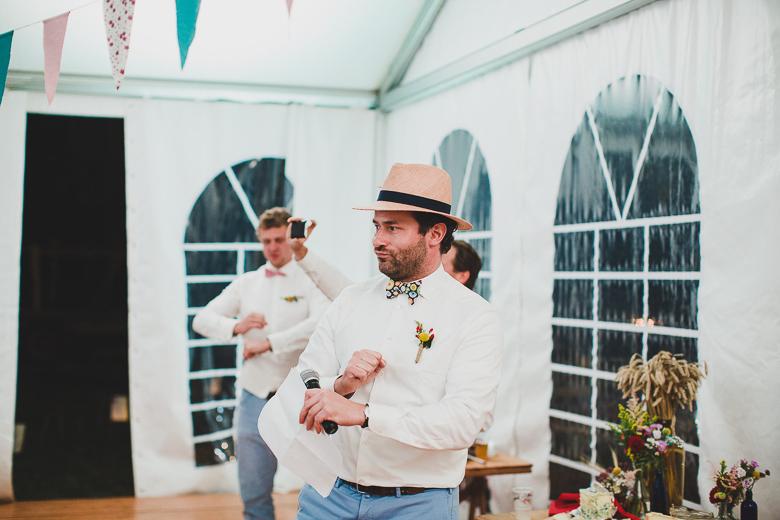Love & Tralala Mariage champêtre en Dordogne - les discours funs