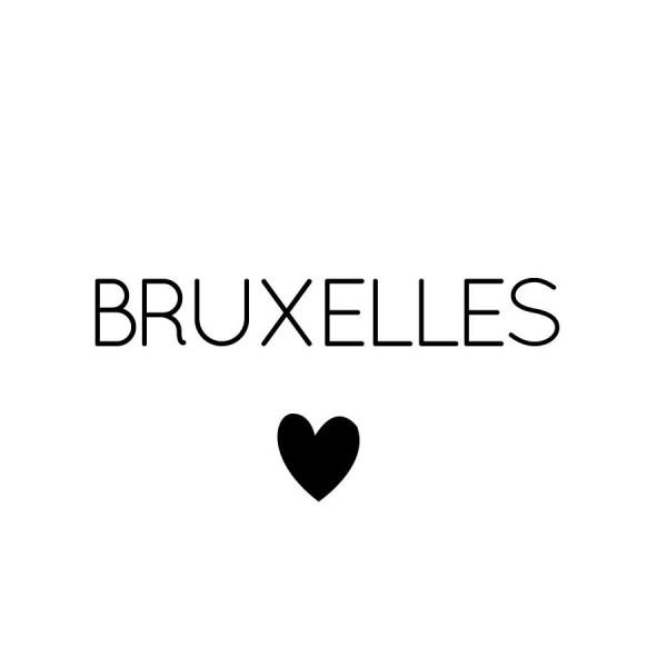 photo lovetralala bruxelles coeur attentats 2016