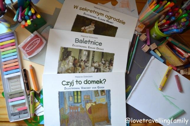 """""""Malarze dzieciom"""" Agnieszka Starok wyd. Tekturka"""