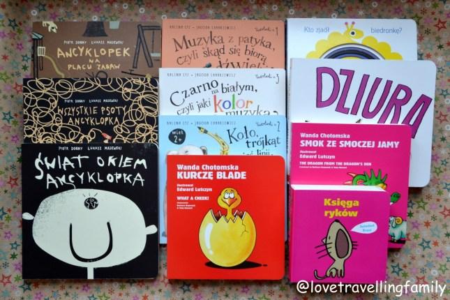Książki dla maluchów wiek 0 – 3 cz. 3 Książeczki kartonowe