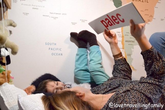 Love travelling famil Nauka czytania metodą Domana dla 4 latka